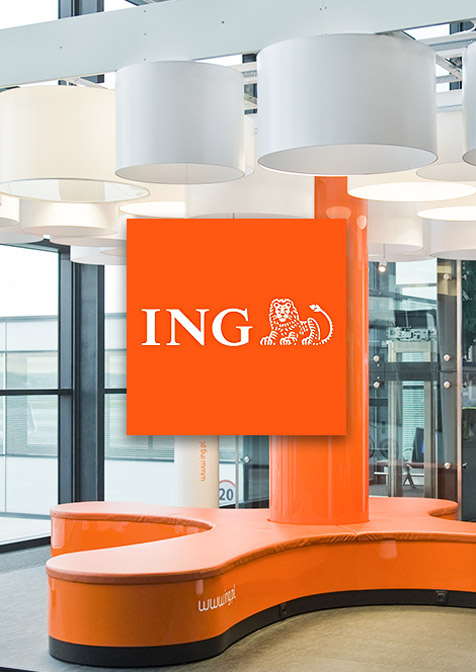 teaser video pour ING Banque